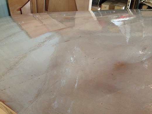 Epoxy screed